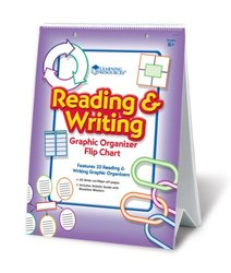 Learning Resources Reading and Writing Graphic Organizer Flipchart