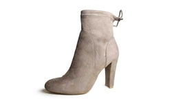 Charles By Charles David Women's Semi Boots - Dark Taupe - Size: 8.5