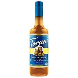 Torani Sugar Free French Vanilla Syrup -25.35oz