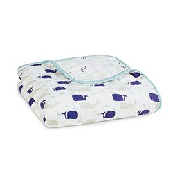 aden + anais Classic Dream Blanket, High Seas, 1 Pack