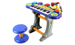 Children's Fun Party Voice Synthesizer Piano Keyboard Play Set