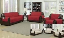 Ashford Sofa Cover  - 110x71 -  Brick Linen