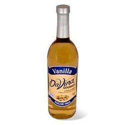 DaVinci Gourmet Sugar Free Vanilla Syrup with Splenda - 25.36 fl.oz