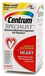 Specialist Multivitamin / Multivitamin Tablets For Heart - 60 Count