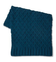 "Threshold Chenille Chunky Knit Throw - Navy - Size: 50""X60"""