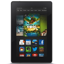 "Amazon Kindle Fire HD 7"" Tablet 8GB Android 4 - Black (4470 HS)"