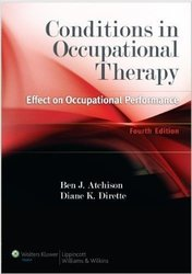 Conditions in Occupational Therapy Effect on Occupational Performance Book