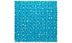 Stall Size Pebbles Vinyl Bath Mat - Slate Blue