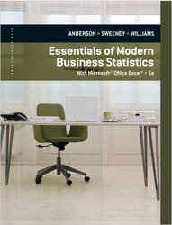 Cengage Modern Business Statistics with Microsoft Excel - 5th Ed Hardcover