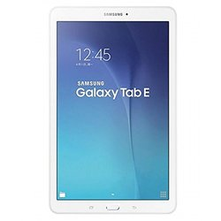 "Unlocked Samsung Galaxy Tab E  8GB 9.6"" WiFi + 3G White (SM-T561)"