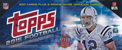 Topps NFL Football Exclusive Massive 505 Card