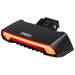 ONEU Bike Tail Light with Waterproof Safety Laser Beams Lamp