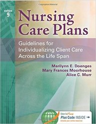 F.A. Davis Nursing Care Plans - 9th Edition Paperback