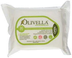 Olivella Cleansing Soap Tissues - Pack of 30