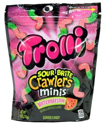 Trolli Sour Brite Bites Watermelon Candy Pack of 18