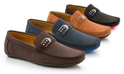 Franco Vanucci Men's Casual shoes DAMON-5 BROWN 8.5M