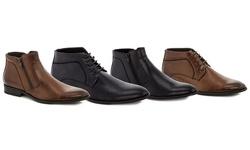 Men's Dress Boots: Black Lace-Up/11