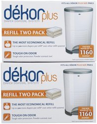 Diaper Dekor New Plus Size Refill - 4 Pk