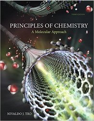 Pearson Principles of Chemistry - A Molecular Approach 3rd Edt Hardcover