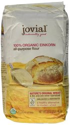 Jovial Organic Einkorn All Purpose Flour - 32Oz - Pack of 5