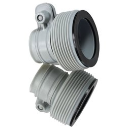 """INTEX 1.25"""" to 1.5"""" Type B Hose Adapters for Pumps & Saltwater - 2Set"""