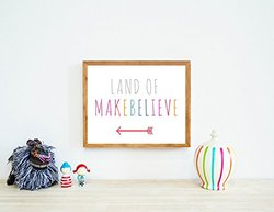 Children Inspire - Land of Makebelieve Wall Art Print - Size: 14x11