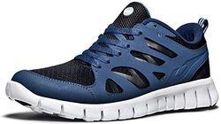 Tesla Men's Lightweight Sports Running Shoe - Black/Blue - Size: 10.5