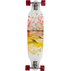 Sector 9 Mountain Peaks Sidewinder Longboard - Red