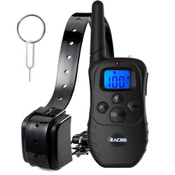 Zacro Rechargeable Remote Dog Training Shock Collar