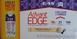 EAS AdvantEdge Carb Control Ready-to-Drink Shake - French Vanilla