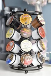 Neat O K Cup Coffee Pod Storage Spinning Carousel Holder - 24 Count