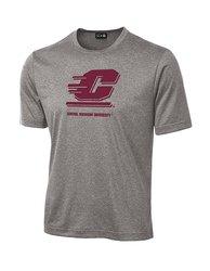 Sdi NCAA Central Michigan Chippewas Mascot T-Shirt - Grey - Size: XX-L