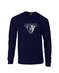Sdi NCAA Maine Black Bears Classic Long Sleeve T-Shirt - Navy - Size: L