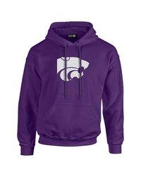 Sdi NCAA Kansas State Wildcats Stacked Sleeve Hoodie - Purple - Size: S