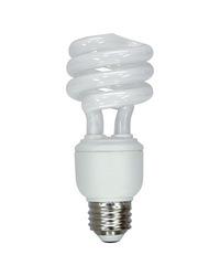 GE 60-Watt CFL Soft White Light Bulb - 2-Pack (FLE15HT3XXLL/2BX)