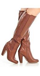 Bamboo Women's Boots - Chestnut - Size: 8 (Mozza-13)