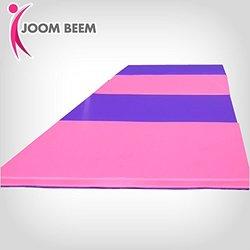 Joom Beem Gymnastics Mat 8x4ft Tumbling Mat - Pink & Purple