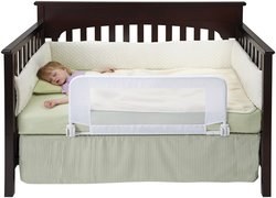 DexBaby Convertible Crib Reinforced Anchor Safety Bed Rail for Toddler