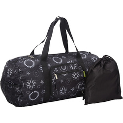 Sacs of Life The Duffster Compact Duffle Bag - Black / White Bella