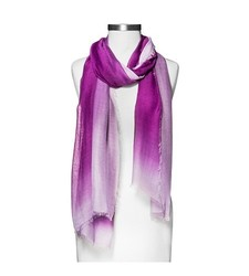 Merona Women's Ombre Oblong Scarf - Purple