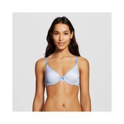 Maidenform Women's Comfort Obsession Demi Bra - Blue Jeo- Size: 34D