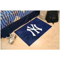 """Mlb 30""""x19"""" Starter Rug: New York Yankees/6342"""