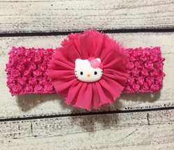 Hello Kitty Baby Girls' Ribbon Hairband - Pink