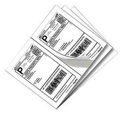 Yens 200 Half Sheet Shipping Labels for Laser/Inkjet