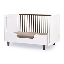 Oeuf Merlin Toddler Bed Conversion Kit -White/Brown