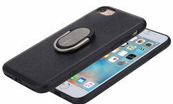 Ring Holder Case For Iphone: 7 / 7s - Black