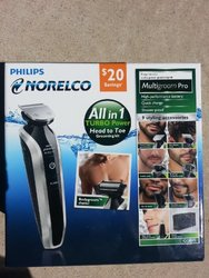 Philips Norelco All in 1 Turbo Power Head to Toe Grooming Kit