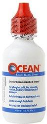 OCEAN Saline Nasal Spray - Pack of 10 - 1.5 oz