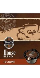 Tully's Coffee House Blend Vues - 32 Count