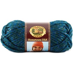 Hometown USA Yarn-Lake Tahoe Blue